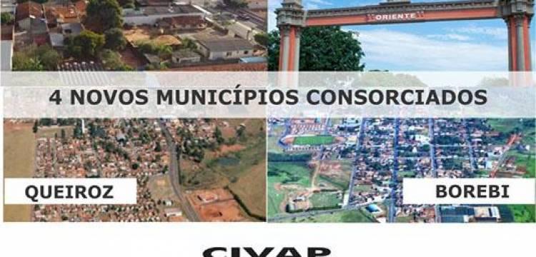 CIVAP INTEGRA NOVOS MUNICÍPIOS: ORIENTE, QUEIROZ, BOREBI E QUINTANA